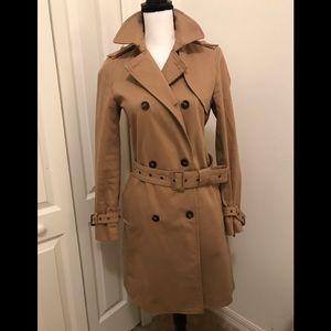 Zara  basic Tan Trench coat